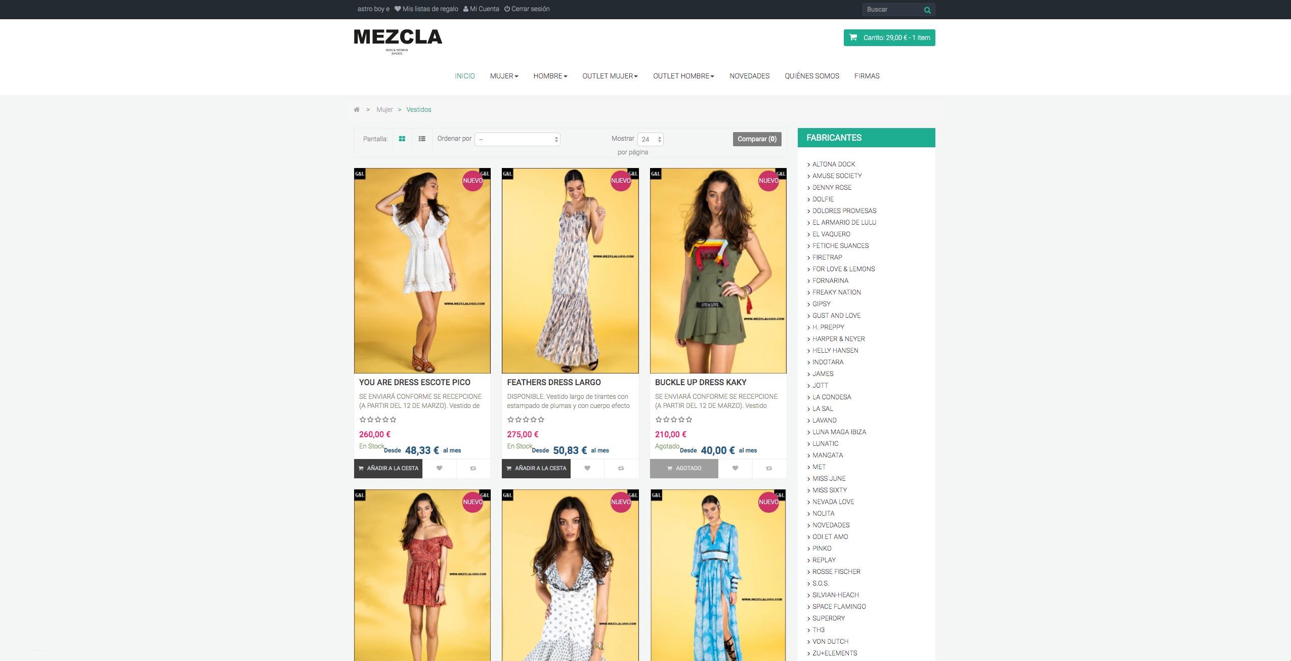 mezclalugo tienda on line